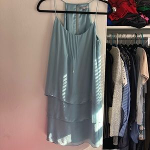 H&M Blue Tiered Dress - size 8